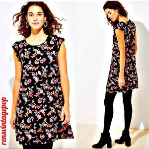 Ann Taylor LOFT Swing Floral Dress NWT